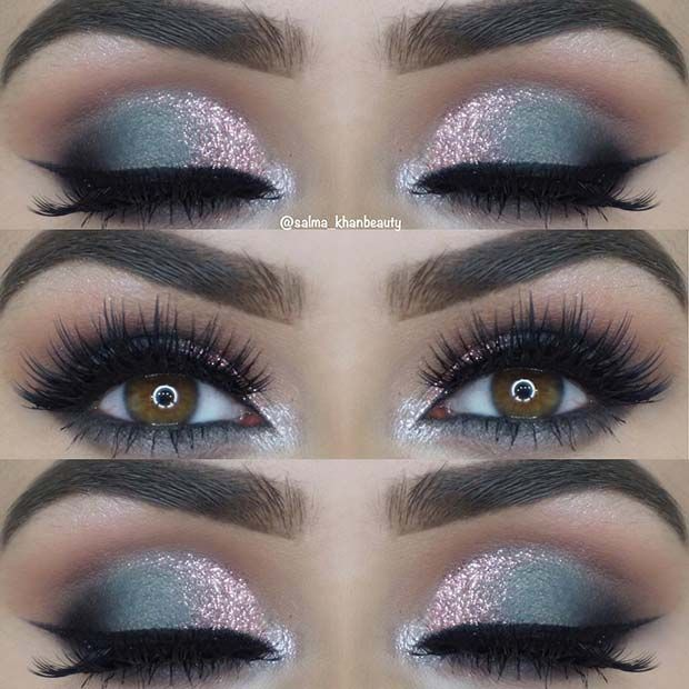 23 Glam Makeup Ideas for Christmas 2017 | Page 2 of 2 | StayGlam