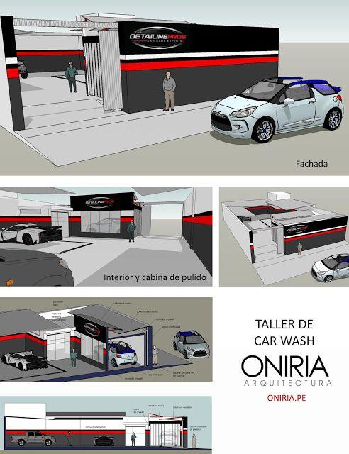 Oniria diseo de car wash comercial oniria arquitectura oniria diseo de car wash solutioingenieria Choice Image