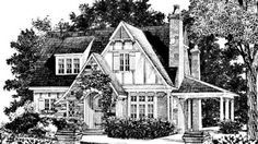 pictures of english tudor cottages storybook cottage house planshobbit huts to - Vintage Storybook House Plans