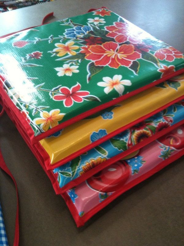 Indoor Outdoor Custom Seat Cushion With Ties This Listing Is