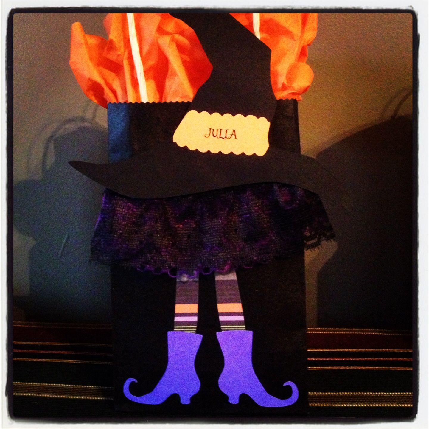 Witch Halloween Goody Bags for the Girls in Lucas' 3rd Grade Class ...