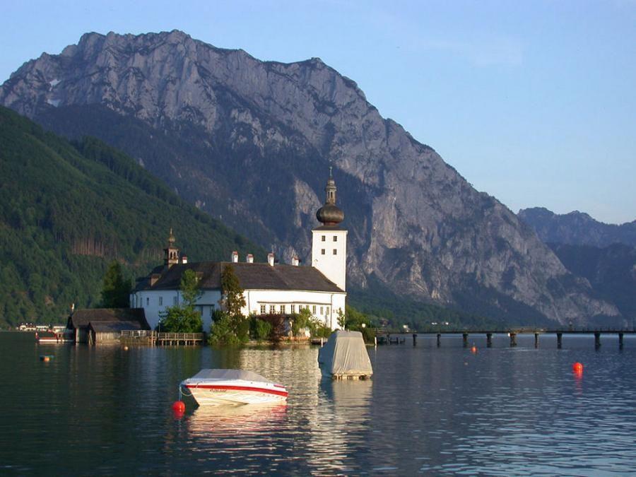 Castle Ort on Traunsee, Gmunden   Gmunden austria, Gmunden
