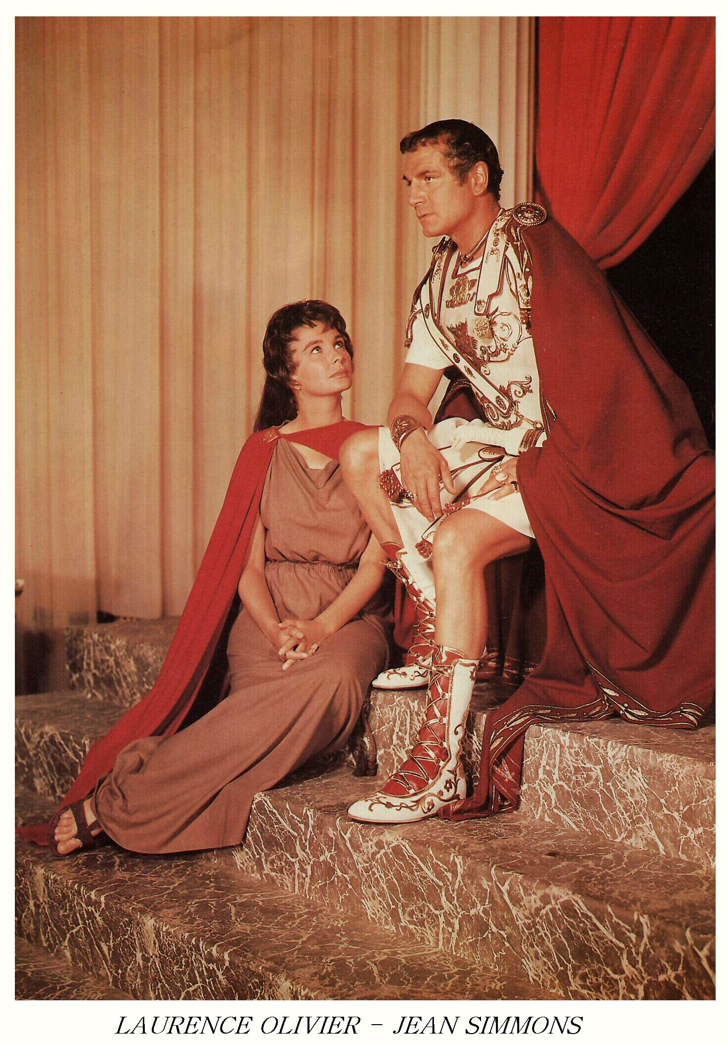 Laurence olivier spartacus quotes - Spartacus 1960 Jean Simmons And Laurence Olivier