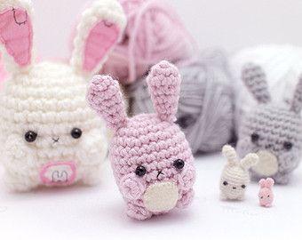 Easy Amigurumi Crochet Patterns : Amigurumi bunny pattern cute crochet rabbit pattern crochet