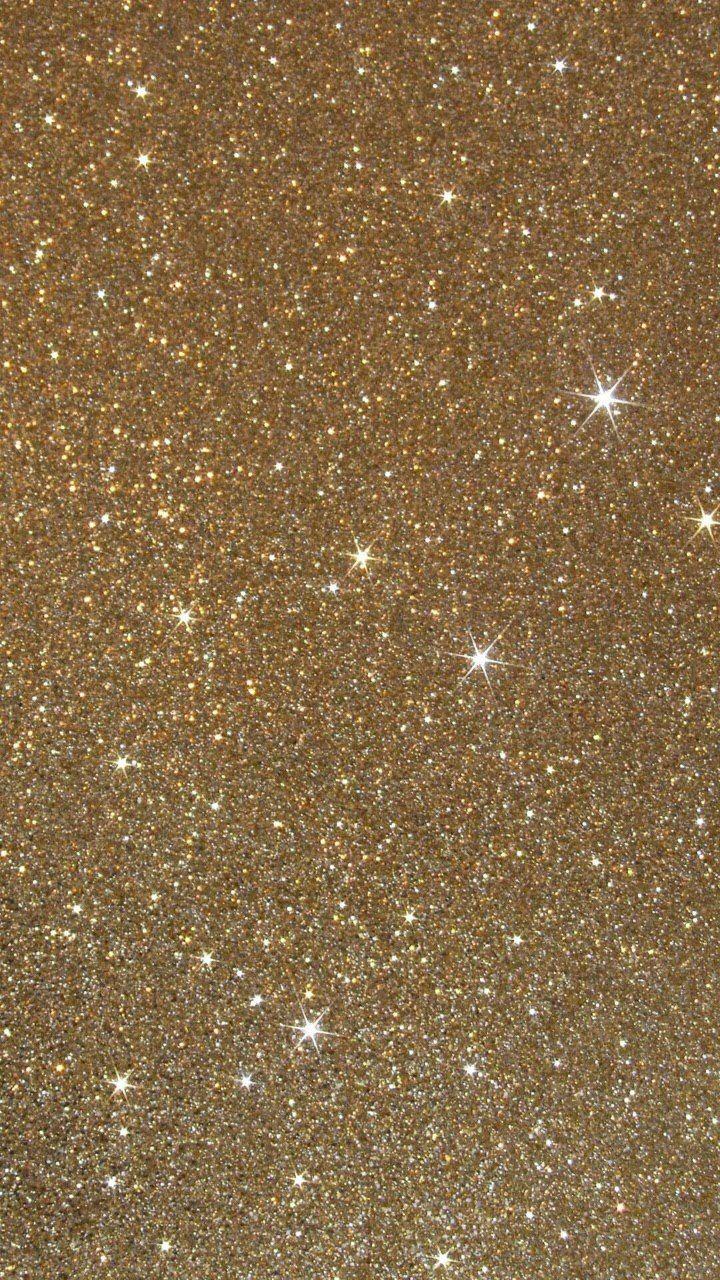Gold glitter ✨ hd wallpaper  on We Heart It
