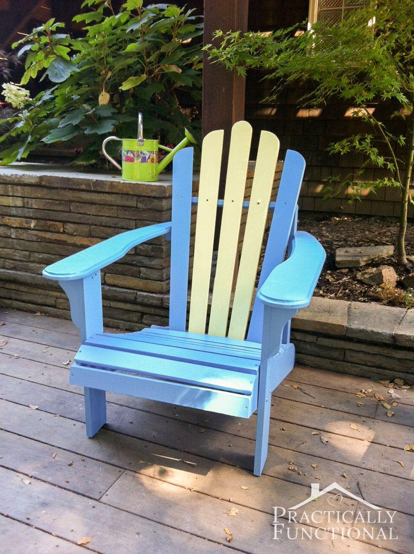 Diy Painted Adirondack Chairs Painting Adirondack Chairs Is Way