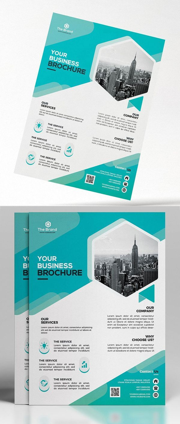 Free Photo Realistic Corporate Business Flyer Templates - Graphic Templates