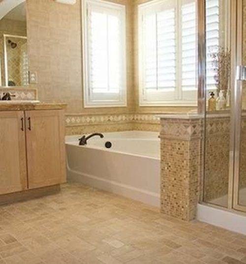 pros and cons of various bathroom floor tile types bathroom ideas rh in pinterest com