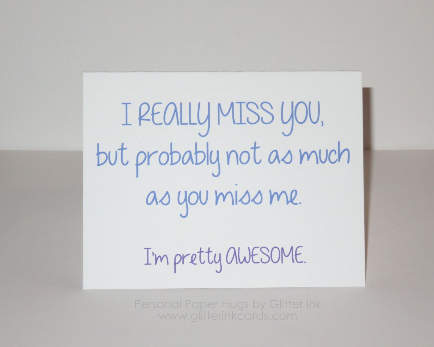 I Really Miss You Funny Miss You Card Funny Long Distance Card Funny Long Distance Friendship Birthday Quotes For Him Miss You Funny Friends Quotes Funny