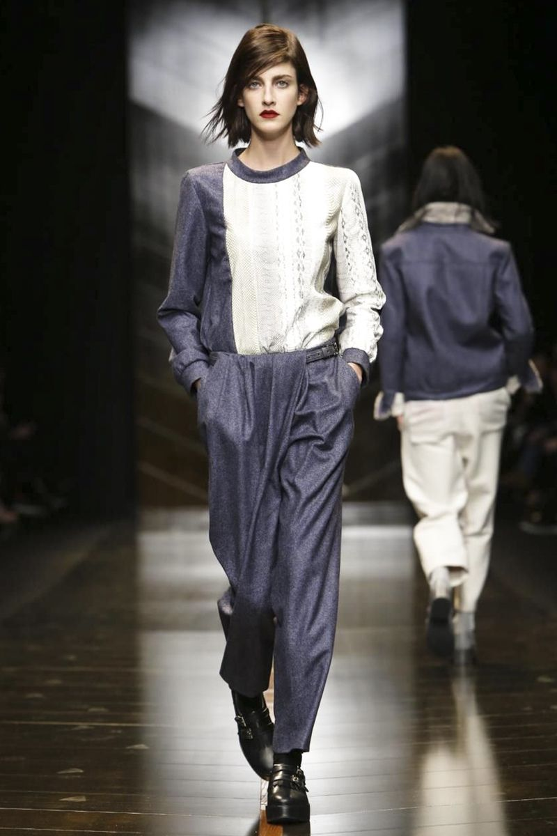 Trussardi Ready To Wear Fall Winter 2014 Milan - NOWFASHION
