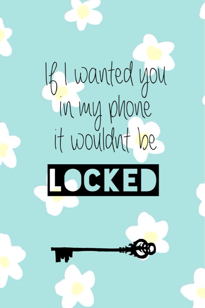Lockscreen My Edit On We Heart It Funny Phone Wallpaper Dont Touch My Phone Wallpapers Wallpaper Iphone Cute