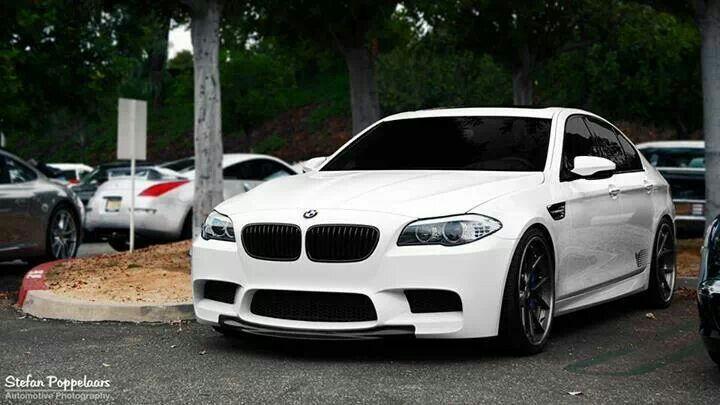 Bmw F10 M5 In Alpine White Bmw Bmw M5 Bmw M5 F10