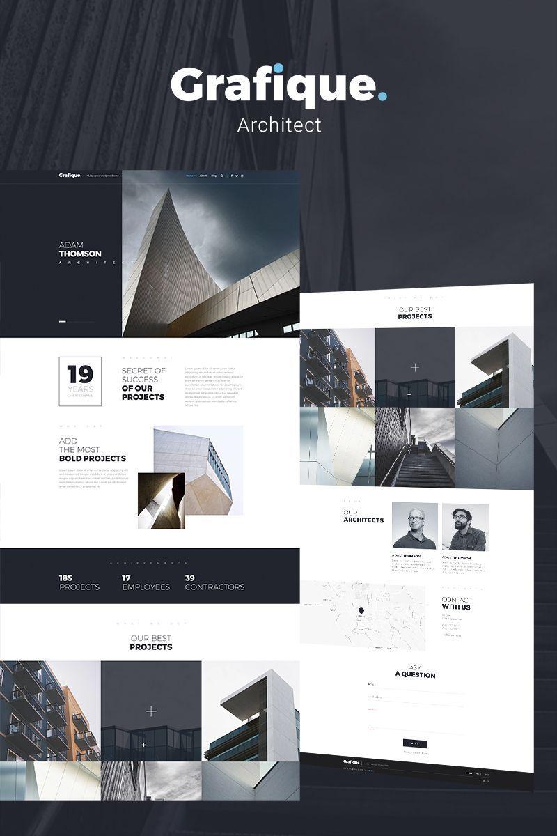 Grafique Architect Elementor WordPress Theme Макет