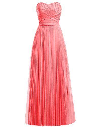 Dresstells® Long Chiffon Sweetheart Prom Dress with Ruffles Bridesmaid Dress Dresstells http://www.amazon.co.uk/dp/B019FEVJSI/ref=cm_sw_r_pi_dp_z6jFwb1FNQK2T