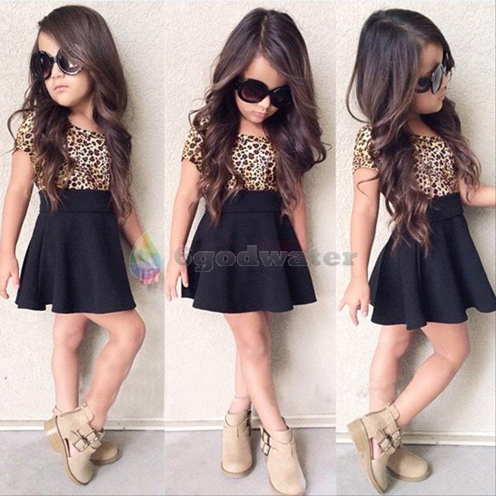 b7255139d  7.82 - 2Pcs Kids Baby Girls Clothing T-Shirt Top + Skirt Set Summer ...
