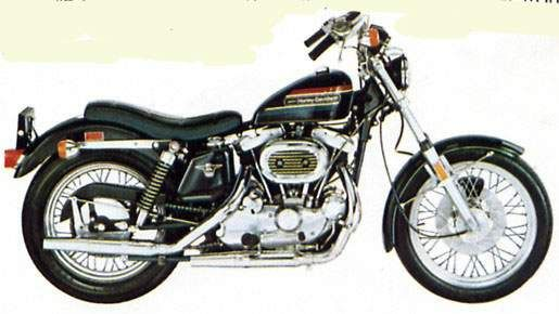 1976 Harley Davidson Xl1000 Harley Davidson Sportster Sportster Ironhead Sportster