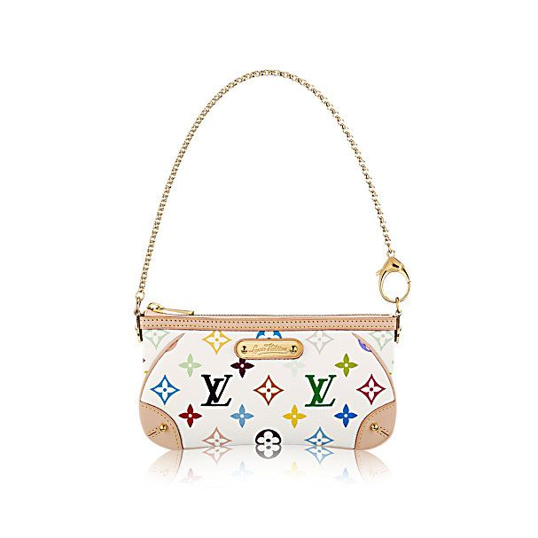 COM - Louis Vuitton Milla Clutch MM (LG) MONOGRAM MULTICOLOR Handbags b7a39889d96bf