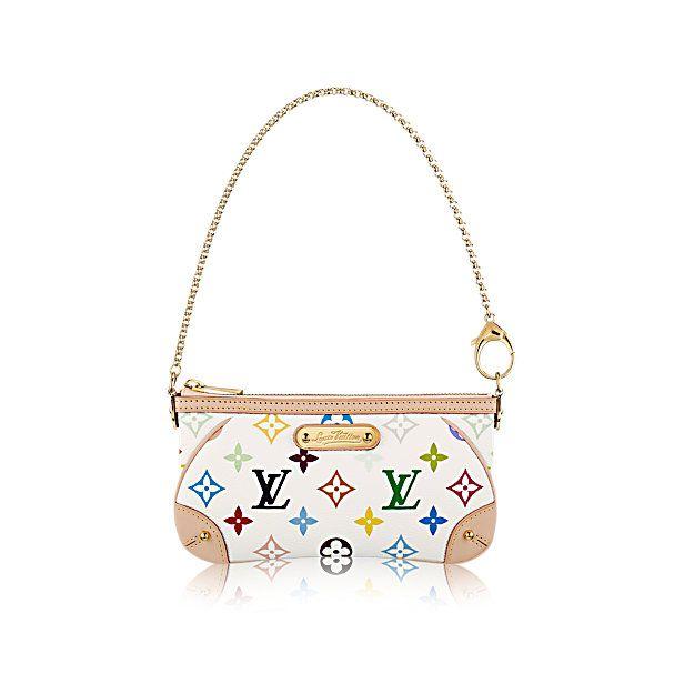 5fbfc0607a60 COM - Louis Vuitton Milla Clutch MM (LG) MONOGRAM MULTICOLOR Handbags