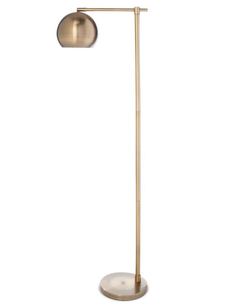 Modern Globe Lamp At Target 69 99 Para El Living Al Lado Del Sillon Dde Ahora Esta La Vieja De Ikea For The Home Cheap Floor Lamps Gold Floor Lamp B