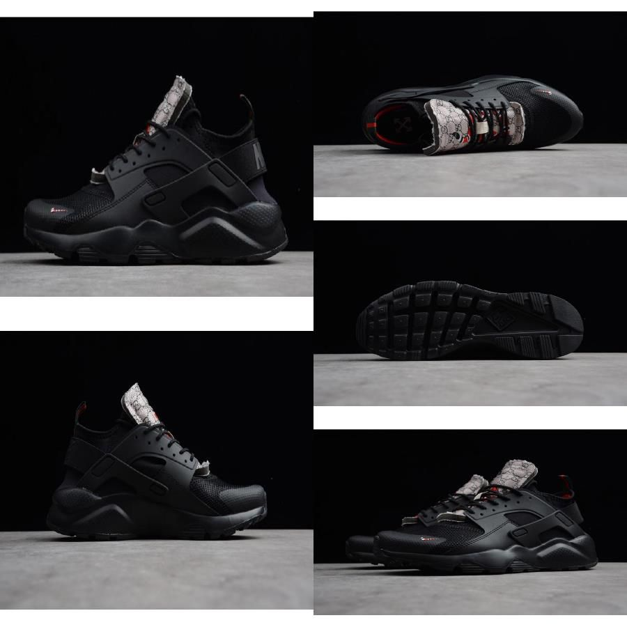 Cuestiones diplomáticas Rechazar Rareza  2019 New Arrival New Nike Air Huarache Run Ultra Black/Black-Black  AA3841-002 | Nike air huarache, Huarache run, Air huarache