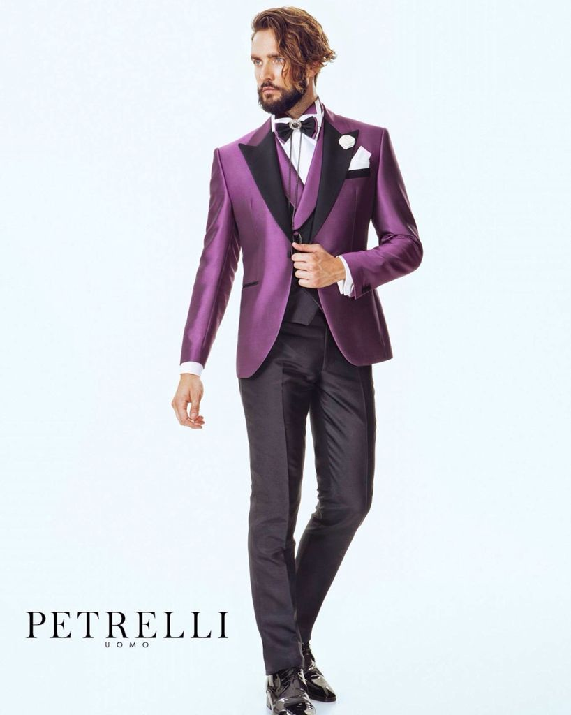 Collezione 2016 Petrelli Uomo Alta Cerimonia man Suits for wedding