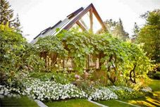 Bella Luna Farms Grapevine Covered Dining Room World S Best Wedding Venues Seattle