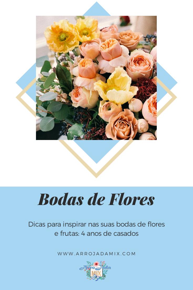 Ideias E Dicas Para Bodas De Flores Ou Frutas Bodas De Cerâmica Bodas De Casamento Anos Bodas De Casamento