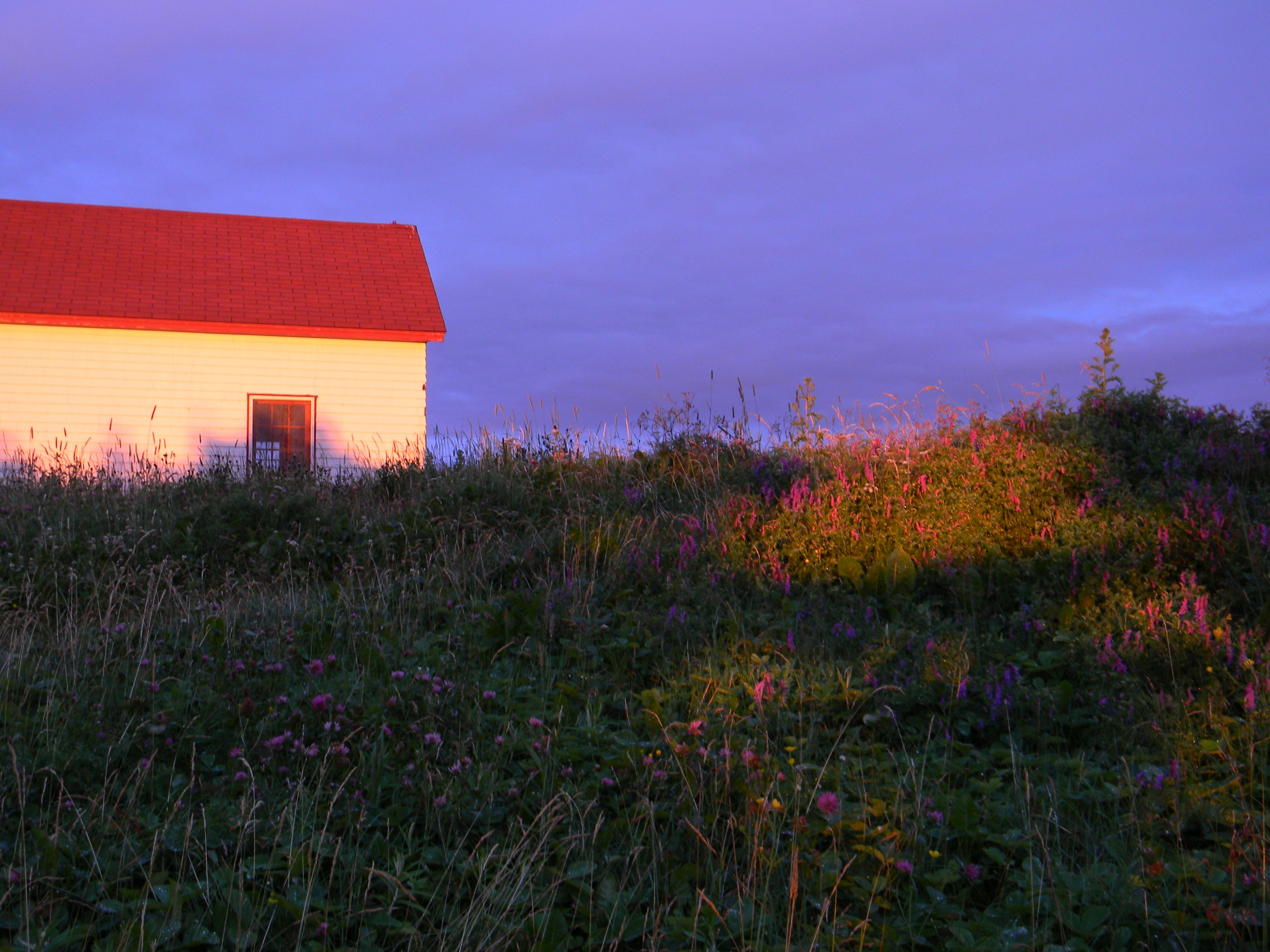 Lobster Cove Head Lighthouse outbuilding