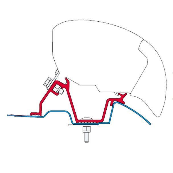 Fiamma 98655-746 F65S Awning Adapter Bracket Mercedes
