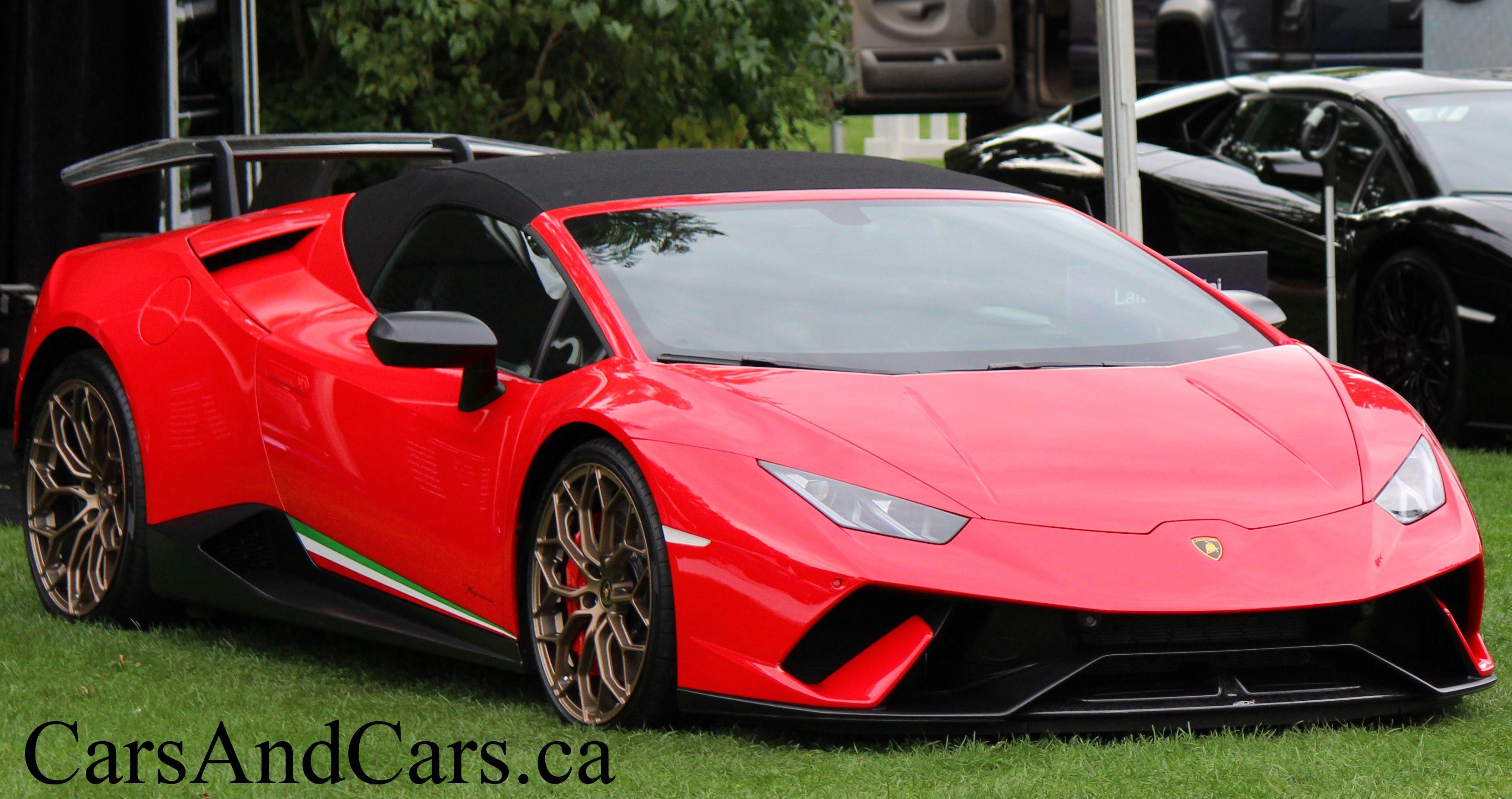 Lamborghini Huracan Performante Supercar Sportcar Luxury Canada