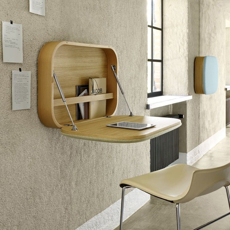 12 id es d co de bureau mural rabattable pinterest. Black Bedroom Furniture Sets. Home Design Ideas