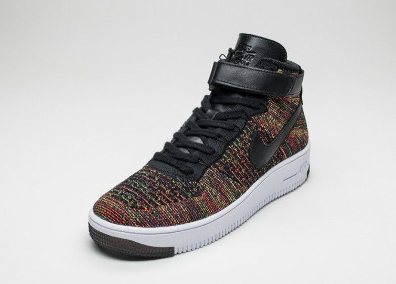 Nike Air Force 1 Ultra Flyknit Black Multicolor