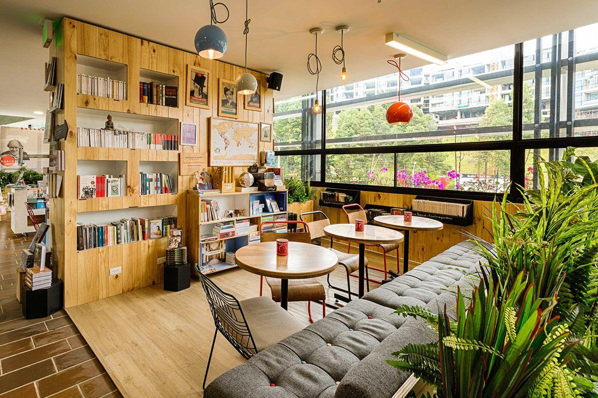Plasma Nodo 9 3 4 Bookstore Cafe Diseno Interior Bookstore