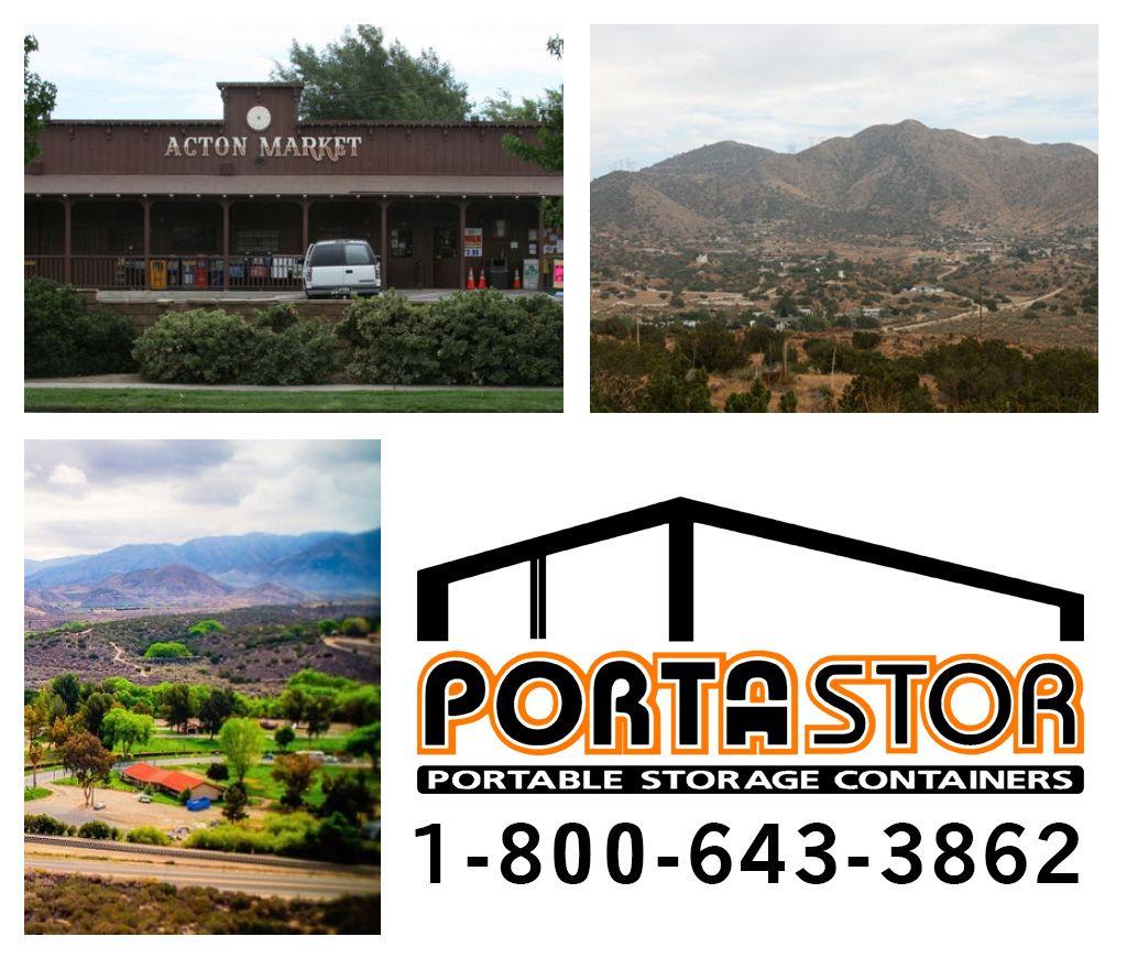 Pin by Porta-Stor on Acton, CA | Portable storage, Storage ...
