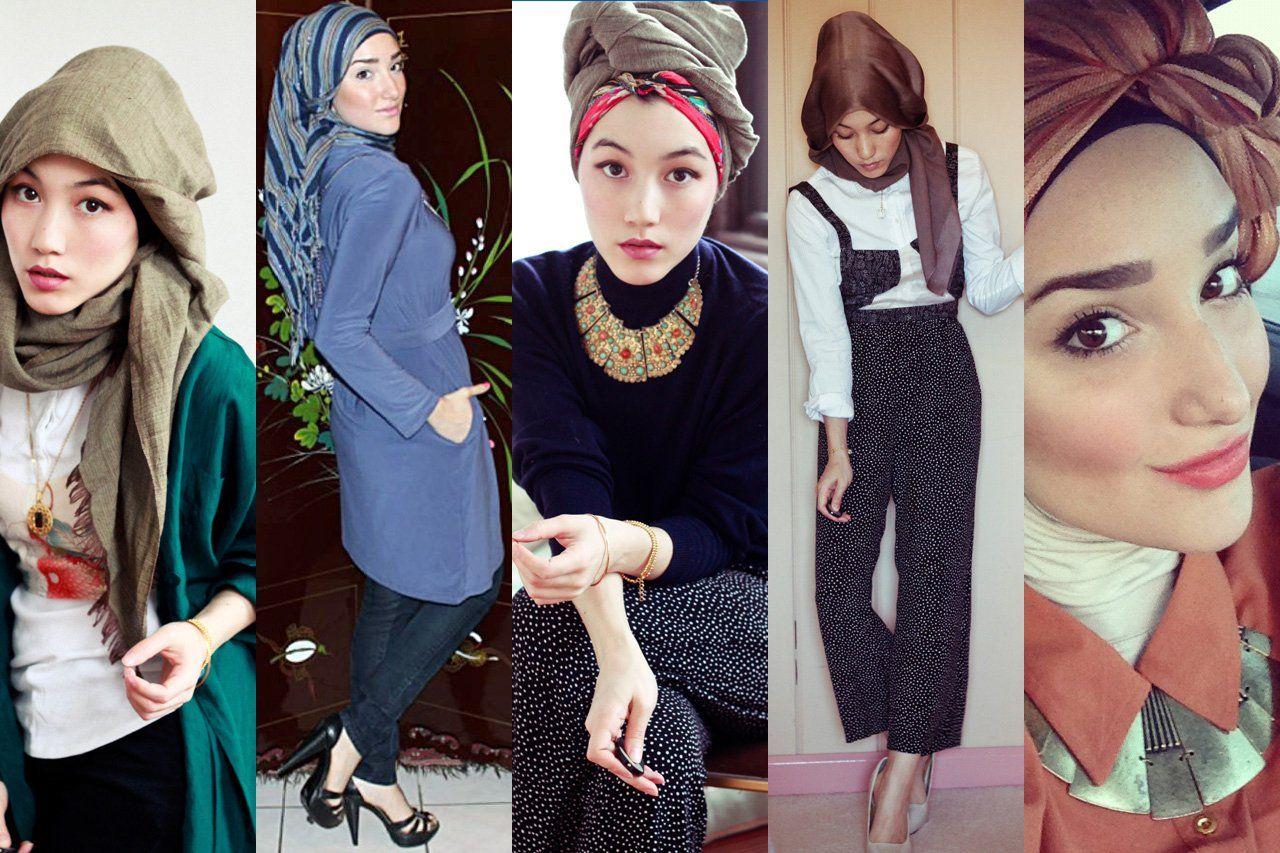 Islamic Dresses With Hijabhijab Fashion Tutorials 17 Best Images