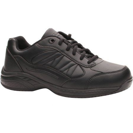 Tredsafe Men's Mario Slip Resistant Athletic Shoe, Wide