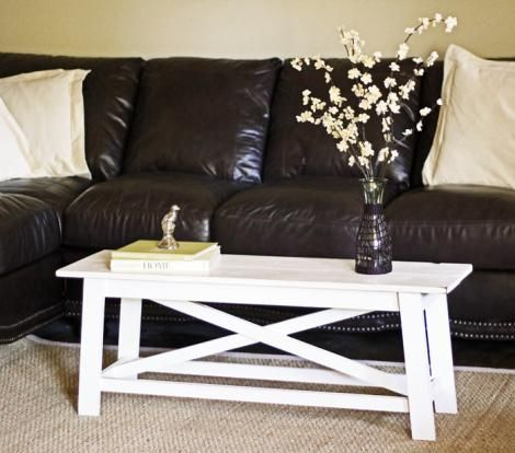 The Handbuilt Home Nooks Old World And Coffee - Narrow Coffee Table Bench CoffeTable