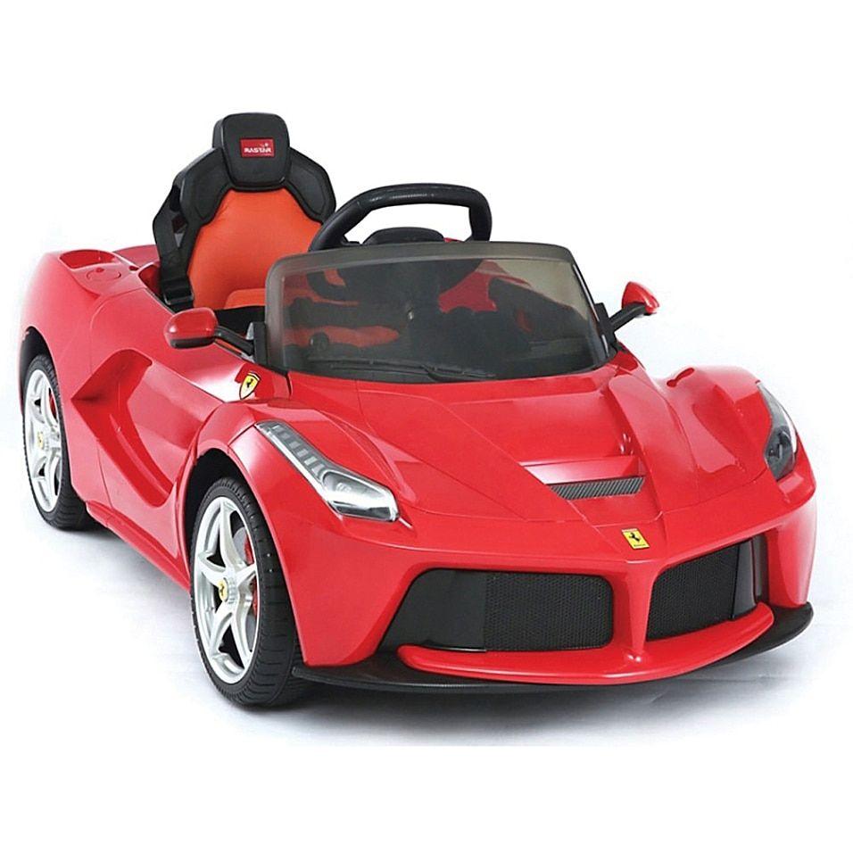 Rastar Ferrari Laferrari 12-Volt Electric Ride-On In Red