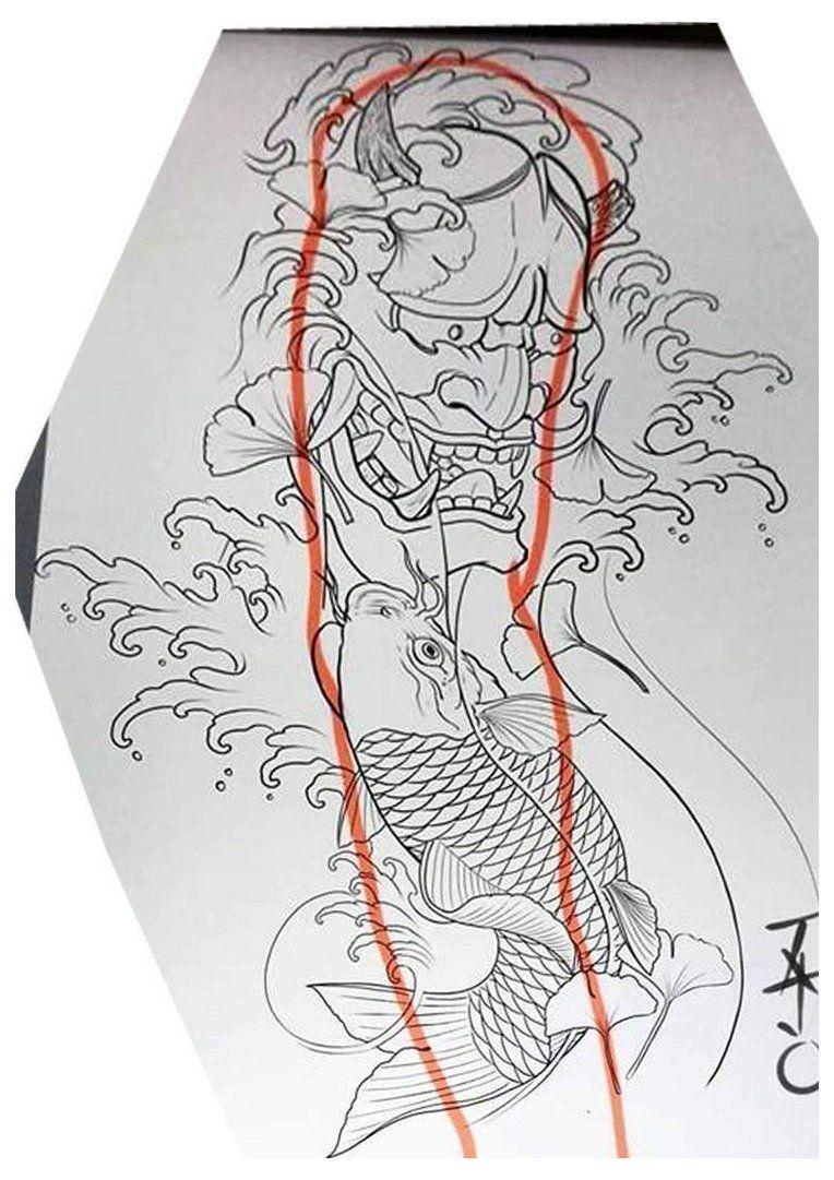 japanese sleeve tattoos design