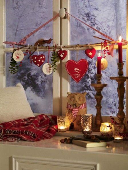 Weihnachtliche Fensterdeko | Wunderweib