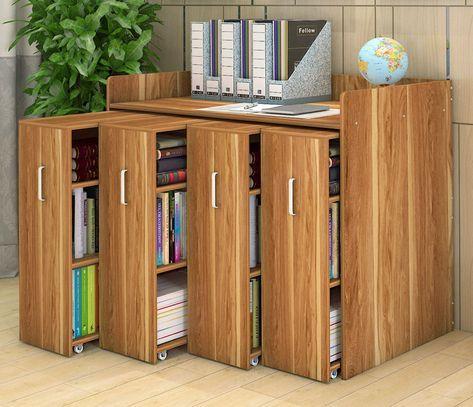 Infinity Vertical Cabinet Shelving System 4-Drawer (Oak)