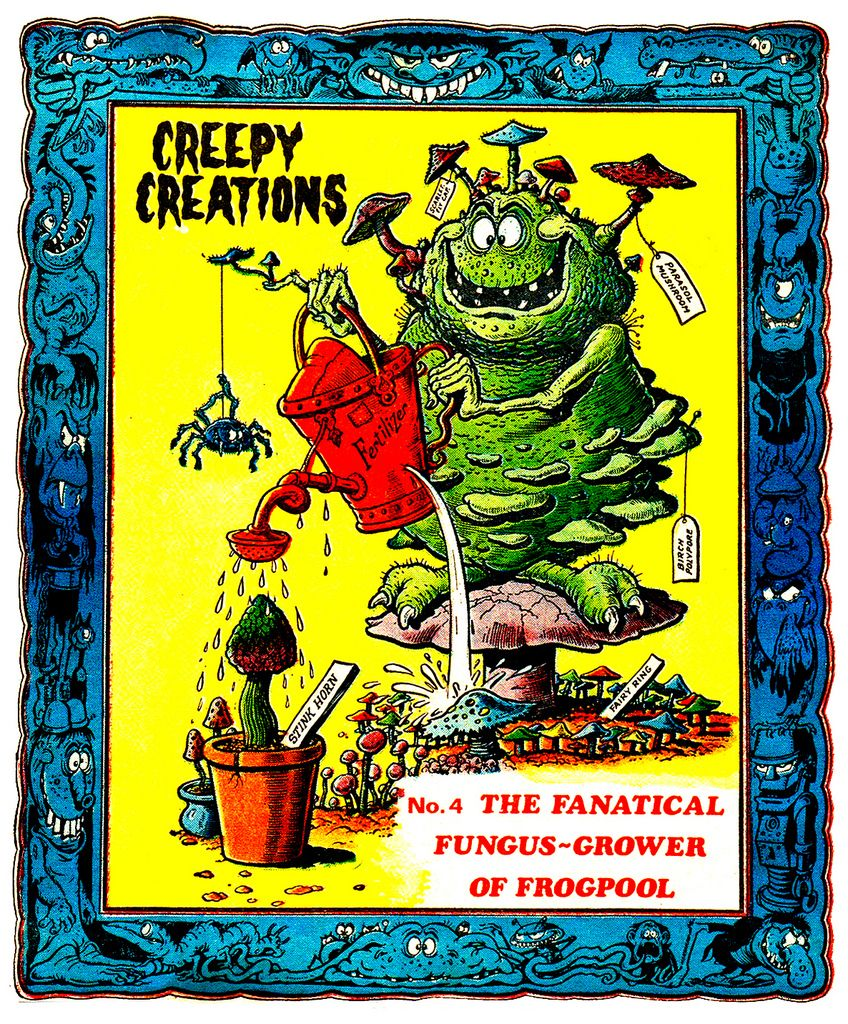 Creepy Creations No.04 - The Fanatical Fungus Grower Of Frogpool