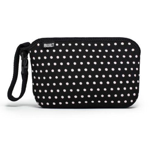 Built NY - Bolsa para pañales, diseño de puntos, color blanco y negro