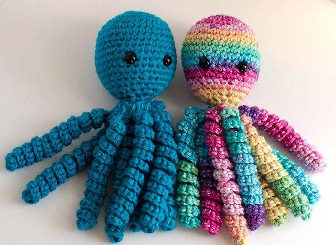 Crochet An Octopus For Preemies   Pinterest   Häckeln, Häkeln und ...