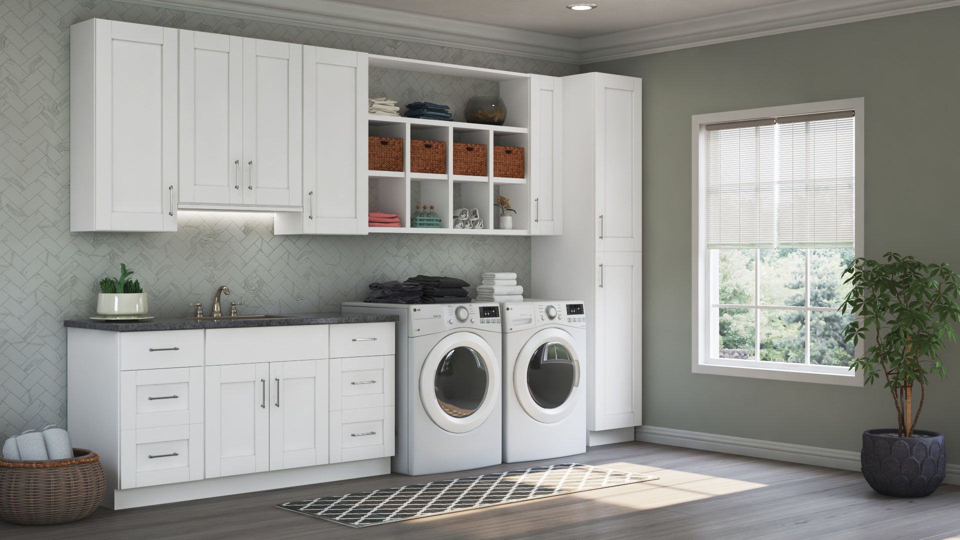 Best Shaker Wall Cabinets In White – Kitchen – The Home Depot 400 x 300