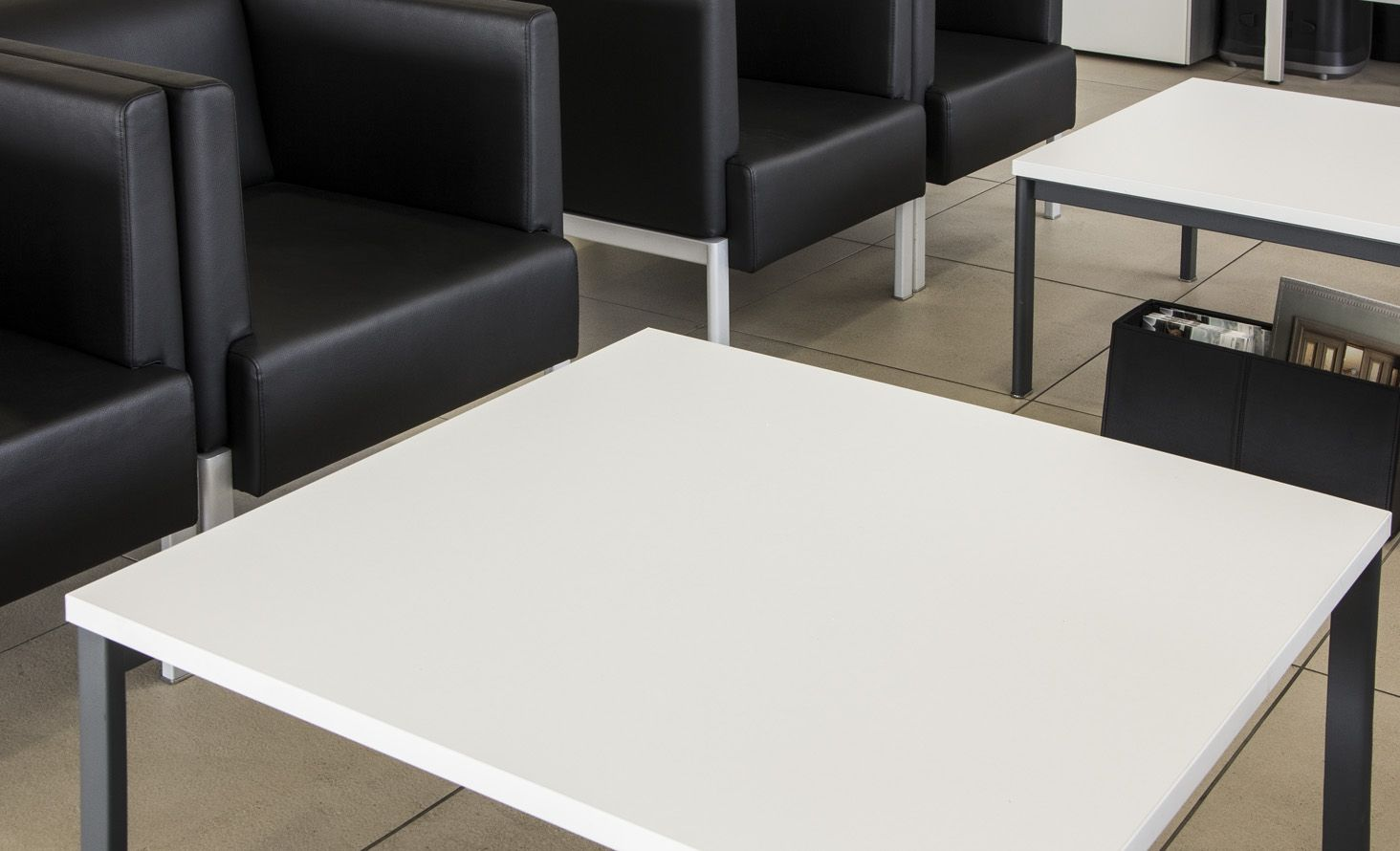 NOTI table | ALTER collection | design by Piotr Kuchcinski | office | hotel | reception | furniture | minimalistic