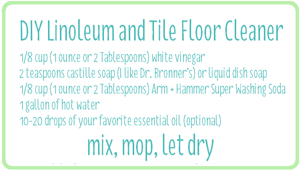 10 Musts For Spring Cleaning Wash Floors Clean Diy