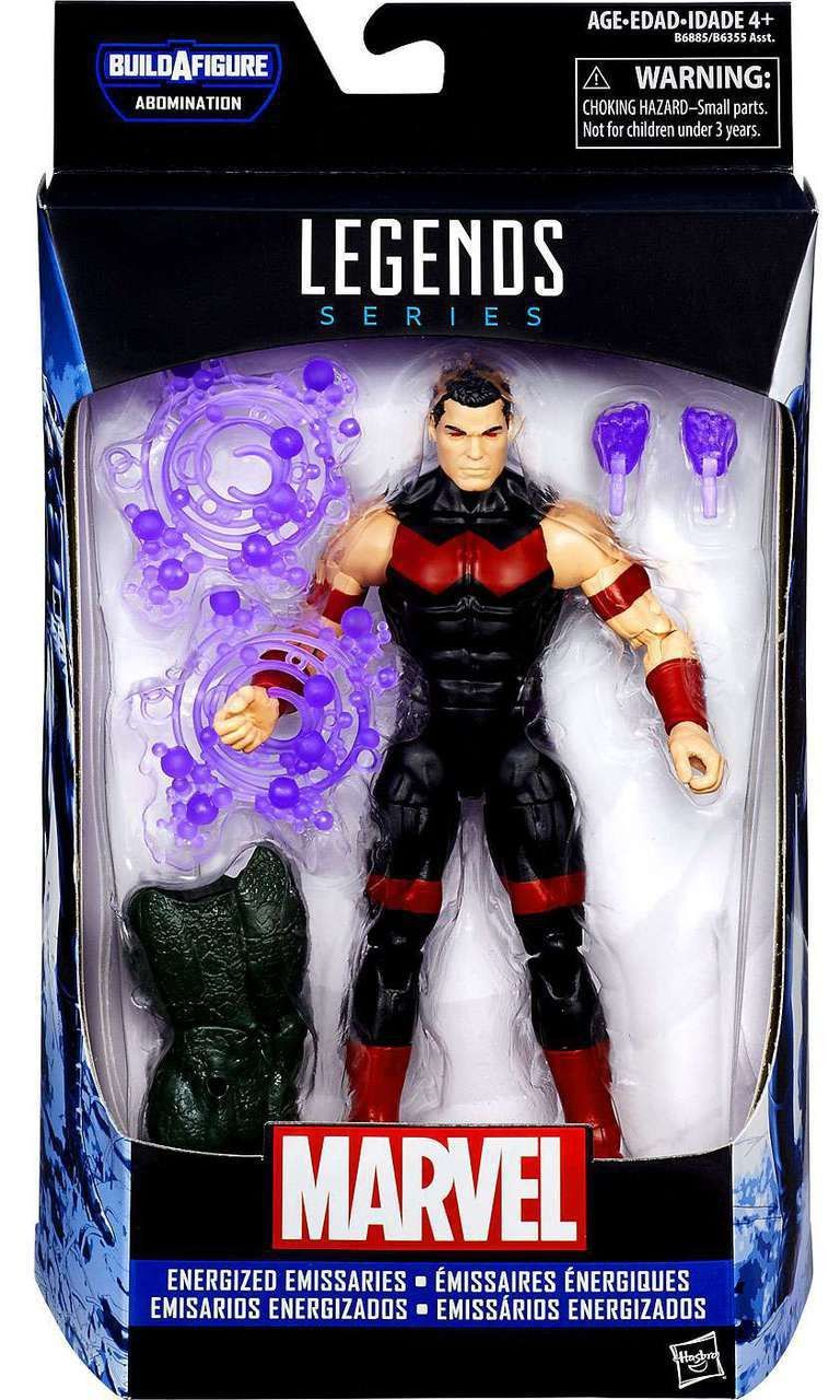 Marvel Legends - Abomination BAF - Energized Emissaries - Marvel's Wonder Man (B6885)