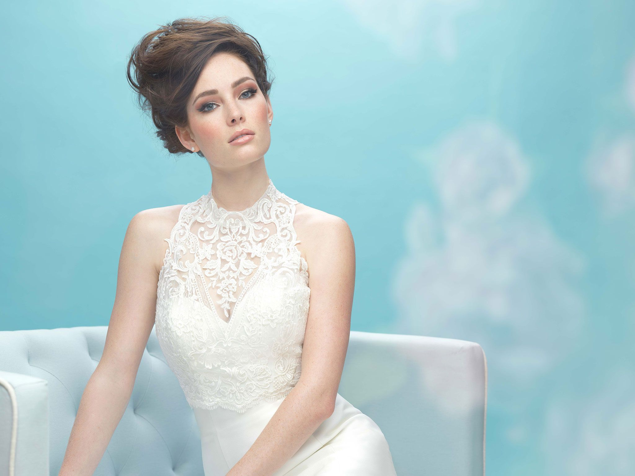 Dress with jacket for wedding  Allure Bridals Jle bit sexy Wear it with or without the
