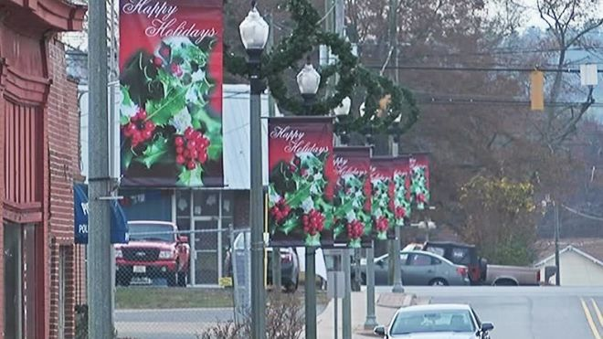 The annual Christmas parade in Piedmont, Alabama is a big deal in this small town tucked away in the foothills of the Appalachian Mountains.